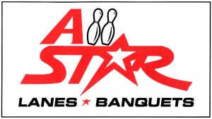 All Star Lanes & Banquet Hall logo