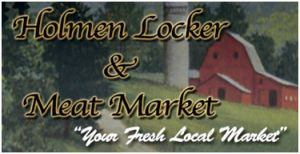 Holmen Locker and Meat Market logo