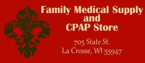 Family Medical Supply and CPAP Store logo